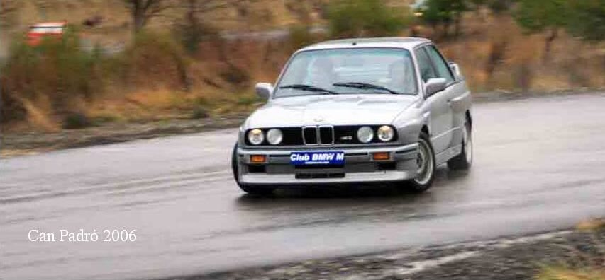BMW M3 e30 en Can Padró